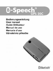 GPS Receiver GPS 20C User s Manual
