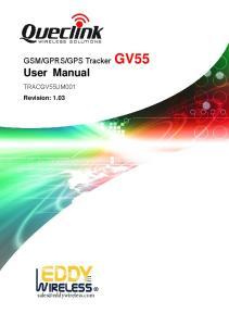 GPS Tracker GV55 User Manual