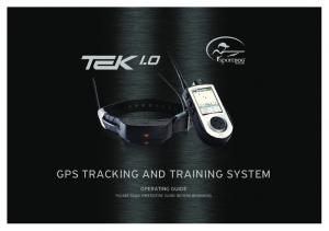 GPS TRACKING AND TRAINING SYSTEM