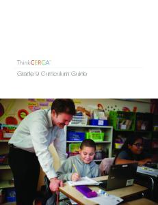 Grade 9 Curriculum Guide