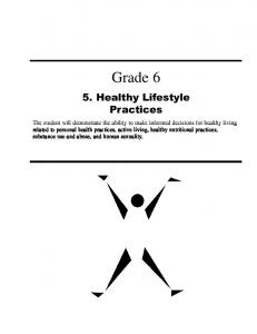Grade Healthy Lifestyle Practices