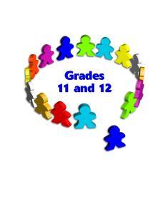 Grades 11 a nd 12 d 1