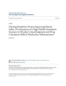 Graduate Research Projects