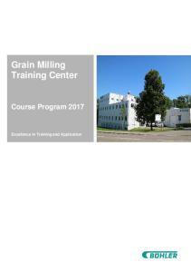 Grain Milling Training Center