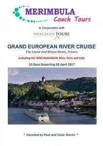 GRAND EUROPEAN RIVER CRUISE The Saone and Rhone Rivers, France