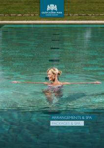 GRAND RESORT ARRANGEMENTS & SPA PACKAGES & SPA