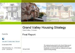 Grand Valley Housing Strategy