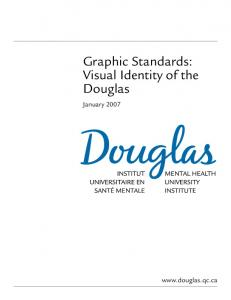 Graphic Standards: Visual Identity of the Douglas