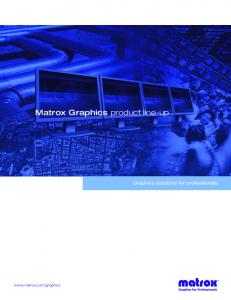 Graphics solutions for professionals