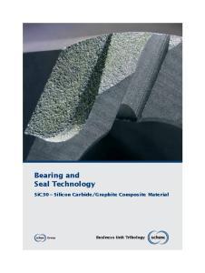 Graphite Composite Material. Business Unit Tribology