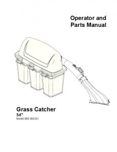 Grass Catcher 54