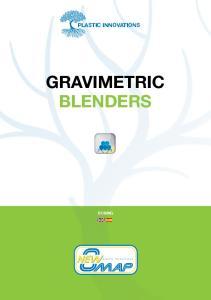 GRAVIMETRIC BLENDERS