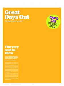 Great Days Out Six-page Easter special