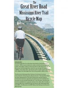 Great River Road. Bicycle Map. Mississippi River Trail. The