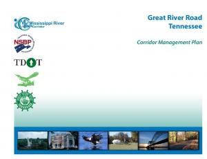 Great River Road Tennessee. Corridor Management Plan