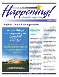 Great things are happening in Campbell County!