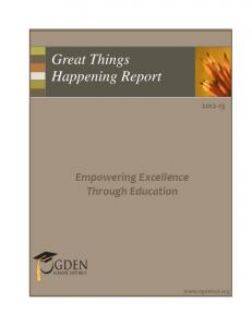 Great Things Happening Report