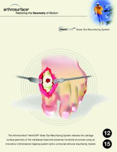 Great Toe Resurfacing System