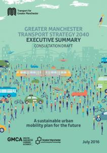 GREATER MANCHESTER TRANSPORT STRATEGY 2040 EXECUTIVE SUMMARY