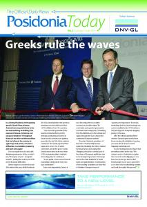 Greeks rule the waves