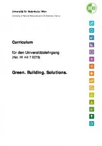 Green. Building. Solutions