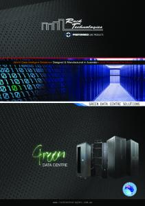 GREEN DATA CENTRE SOLUTIONS