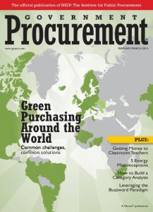 Green Purchasing Around the World PLUS: Common challenges, common solutions