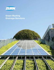 Green Roofing Drainage Solutions