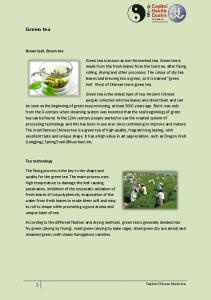 Green tea. Green leaf, Green tea