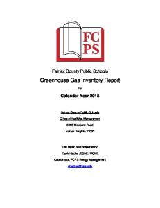 Greenhouse Gas Inventory Report