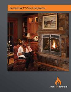GreenSmart 2 Gas Fireplaces