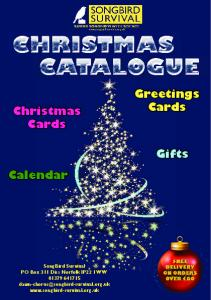 Greetings Cards. Christmas Cards. Gifts Calendar