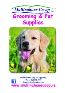 Grooming & Pet Supplies