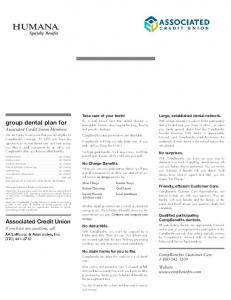 group dental plan for