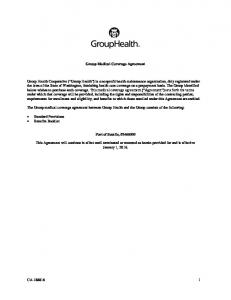 Group Medical Coverage Agreement