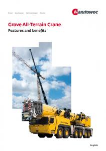 Grove All-Terrain Crane