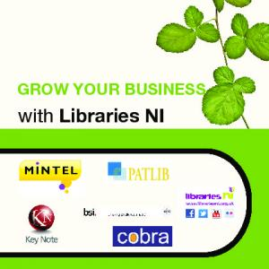 GROW YOUR BUSINESS. with Libraries NI