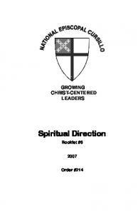 GROWING CHRIST-CENTERED LEADERS