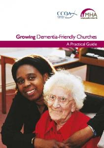 Growing Dementia-Friendly Churches. A Practical Guide