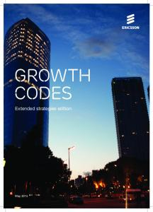 GROWTH CODES. Extended strategies edition