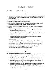 Grundgesetz der DLG e.v