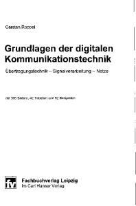 Grundlagen der digitalen Kommunikationstechnik