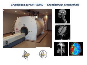 Grundlagen der MRT (MRI) Grundprinzip, Messtechnik