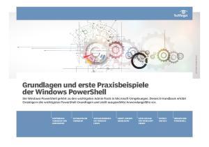 Grundlagen und erste Praxisbeispiele der Windows PowerShell