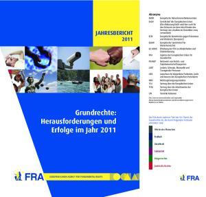 Grundrechte: Herausforderungen und Erfolge im Jahr 2011