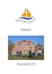 Grundschule Schulprogramm 2016