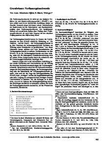 Grundwissen: Verfassungsbeschwerde