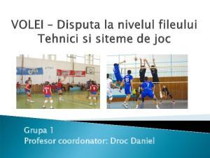 Grupa 1 Profesor coordonator: Droc Daniel