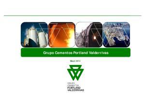 Grupo Cementos Portland Valderrivas. Mayo 2014