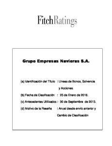 Grupo Empresas Navieras S.A